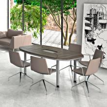 Конференц стол Evolution MDF 25/403 Вязь Серый