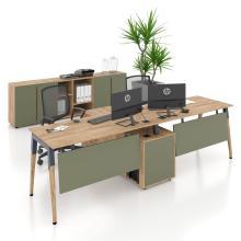 Офісні меблі. Комп'ютерні столи на 2 людини Co_d 35-18