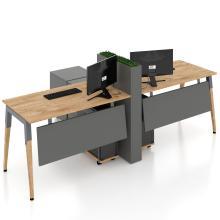 Офисные столы на 2 человека Co_d Salita 35-4