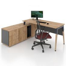 Офисный стол тумбовый Co_d 35-11 Salita