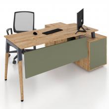 Офисный стол с тумбой Co_d 35-12 Salita
