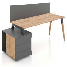 Компьютерный тумбовый стол Co_d 35-2 Salita