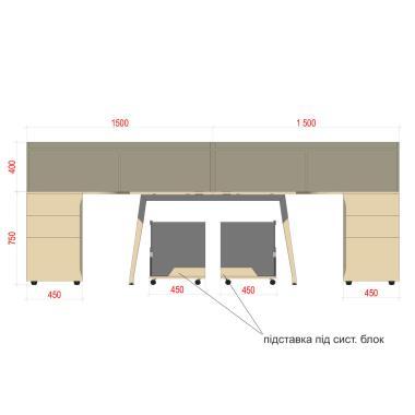 Комплект столов Co_d 35-9