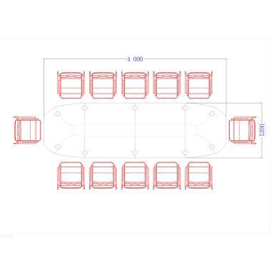 Конференц стол Evolution ДСП - 1