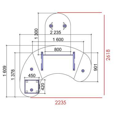 Комплект Гранд ДСП - 4
