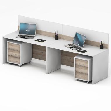 Стіл офісний на 2 робочі місця Promo 29-23