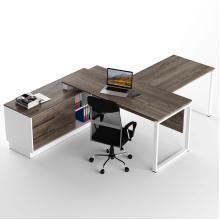 Офісний стіл з брифінг приставкою Promo Q9s Дуб