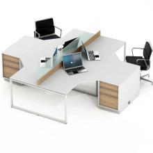 Столи комп'ютерні кутові на 4 робочих місця Promo Q51