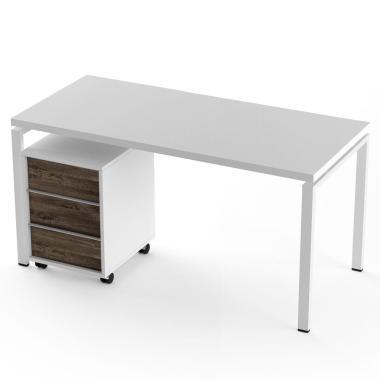 Офисный стол с тумбой Promo t4