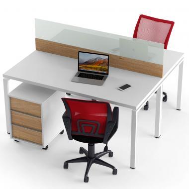 Офисный стол на 2 человека Промо T8