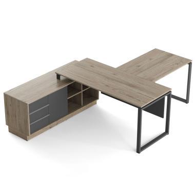 Офисный стол с брифингом Promo Q10s