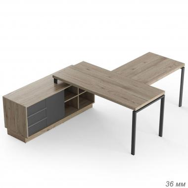 Офисный стол с брифингом Promo t12s