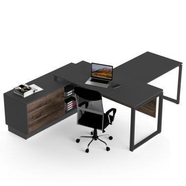 Офисный стол с брифингом Промо Q10