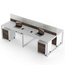 Стол в офис на 4 человека с тумбами Промо Q21 Salita