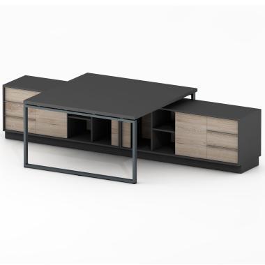 Офісні столи тумбові на двох Promo Q41
