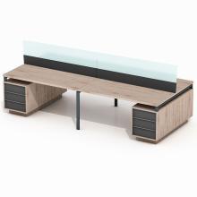 Офисный стол на 4 человека с перегородкой Промо T21s