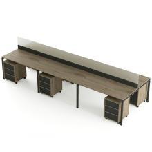 Офисный стол на 6 человека с перегородкой Промо T29s