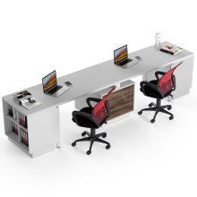 Офисный стол на 2 человека с тумбами Промо t25 Salita