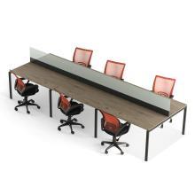 Офисный стол на 6 человека с перегородкой Промо T28s
