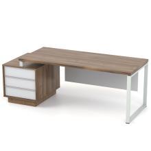 Письменный стол руководителя Промо Топ Q33-3s Salita