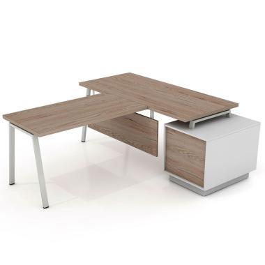 Письменный стол с брифингом Промо Топ R33-5s