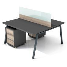 Офисный стол на 2 человек с перегородкой Промо R7