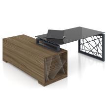Письмовий стіл Rays Lux 31/310 скло і шпон