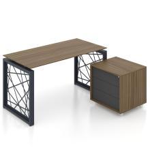 Письмовий стіл офісний Rays Lux 31/322 Шпон