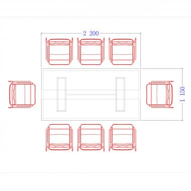 Конференц стол Morion 23/701