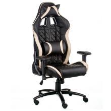 Геймерське крісло ЕкстрімРейс чорно-кремовий (E5654) Special4you