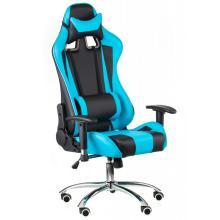 Геймерське крісло ЕкстрімРейс чорно-блакитний (E4763) Special4you
