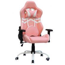 Геймерське крісло ЕкстрімРейс чорно-рожевий (E2929) Special4you