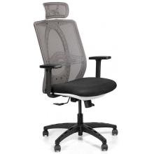 Офісне крісло Black/White Smart Arm_2D Barsky