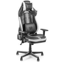 Геймерське крісло VR Cyberpunk White Soft Armor Barsky
