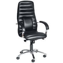Офісне крісло для керівника Орікс хром Прімтекс