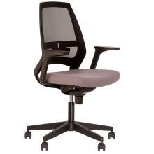 Кресло 4U R 3D NET black Новый стиль