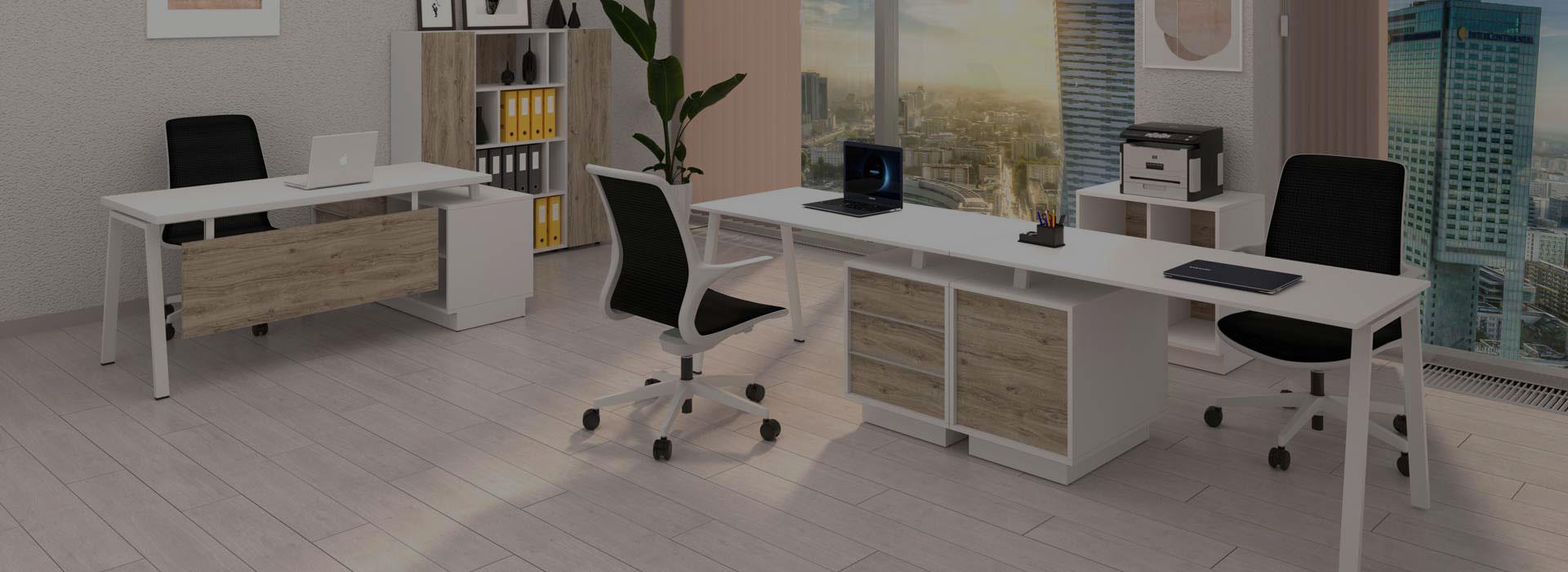 Современные офисные столы от производителя