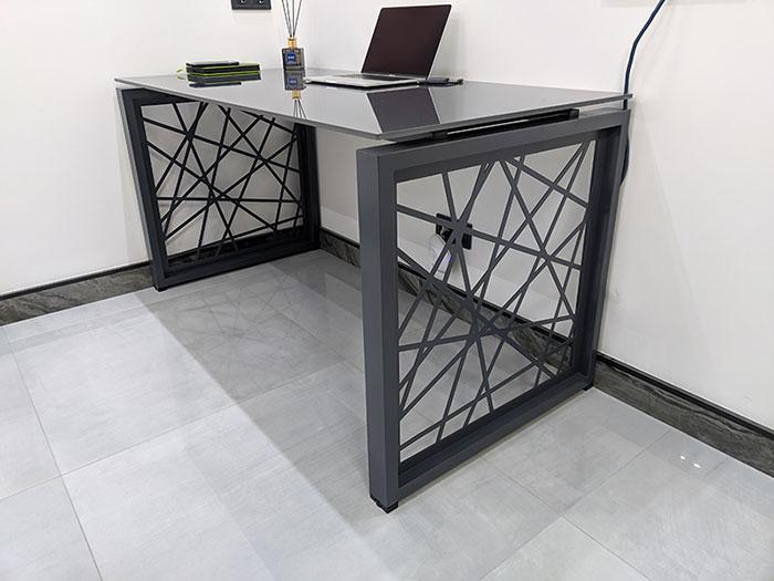 Офисный стол Rays Lux 31/201 стекло 6