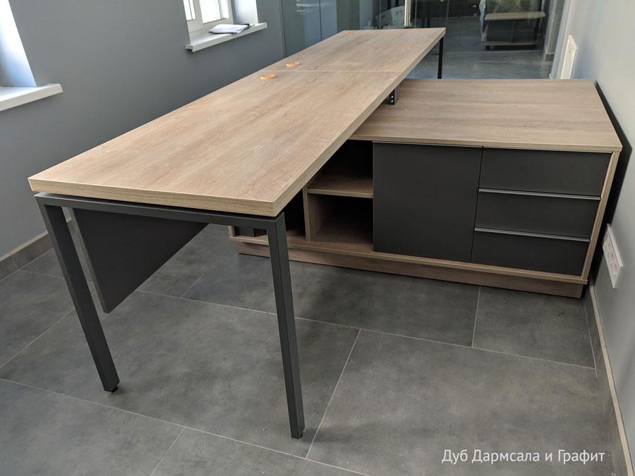 Офисный стол на 2 человека Promo t11s 14